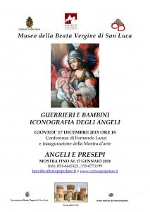 2015-12-17- ICONOGRAFIA DEGLI ANGELI, LOCANDINA CONFERENZA E MOSTRA_Pagina_1