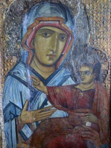Madonna di San Luca POST RESTAURO, RICEVUTA DA MON. TESTI
