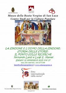 2015-09-12- locandina sindone
